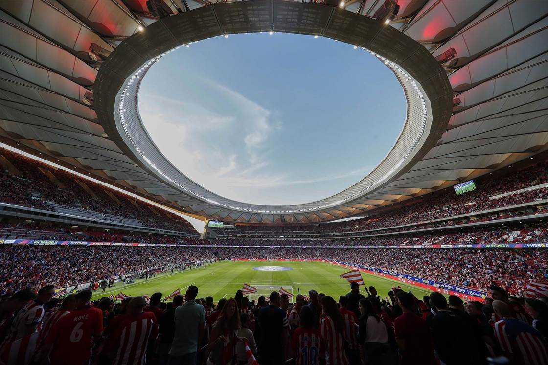 The Wanda Metropolitano: A stadium for the future