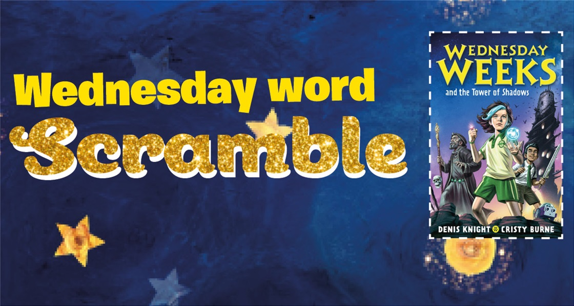 Wednesday Word Scramble: can you crack the code below?
