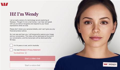Meet Wendy, Westpac's AI-backed 'digital job coach'