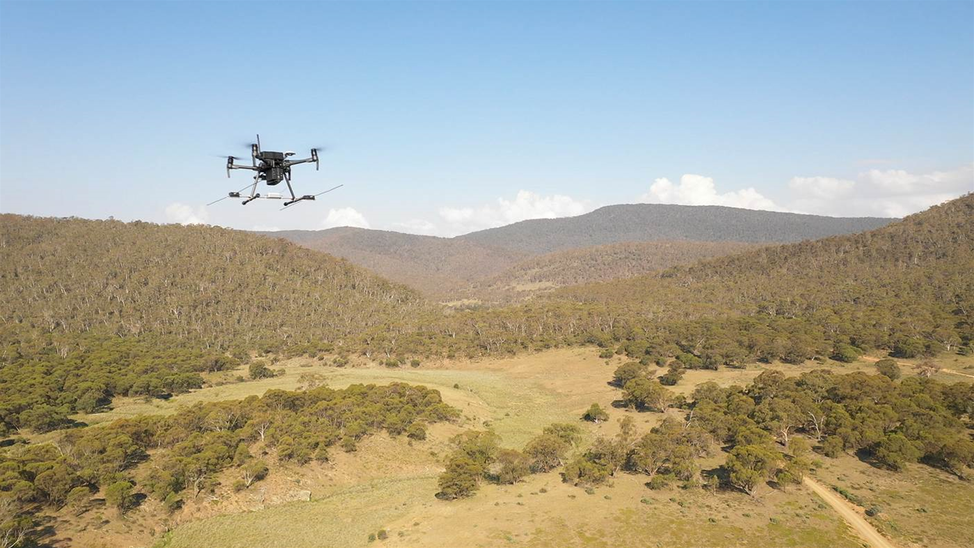 National Parks Association uses drones to remotely find and track elusive wildlife