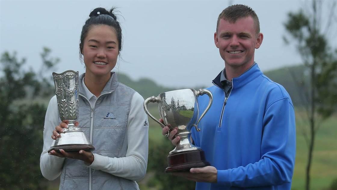Kim & Richards claim NSW Amateur crowns