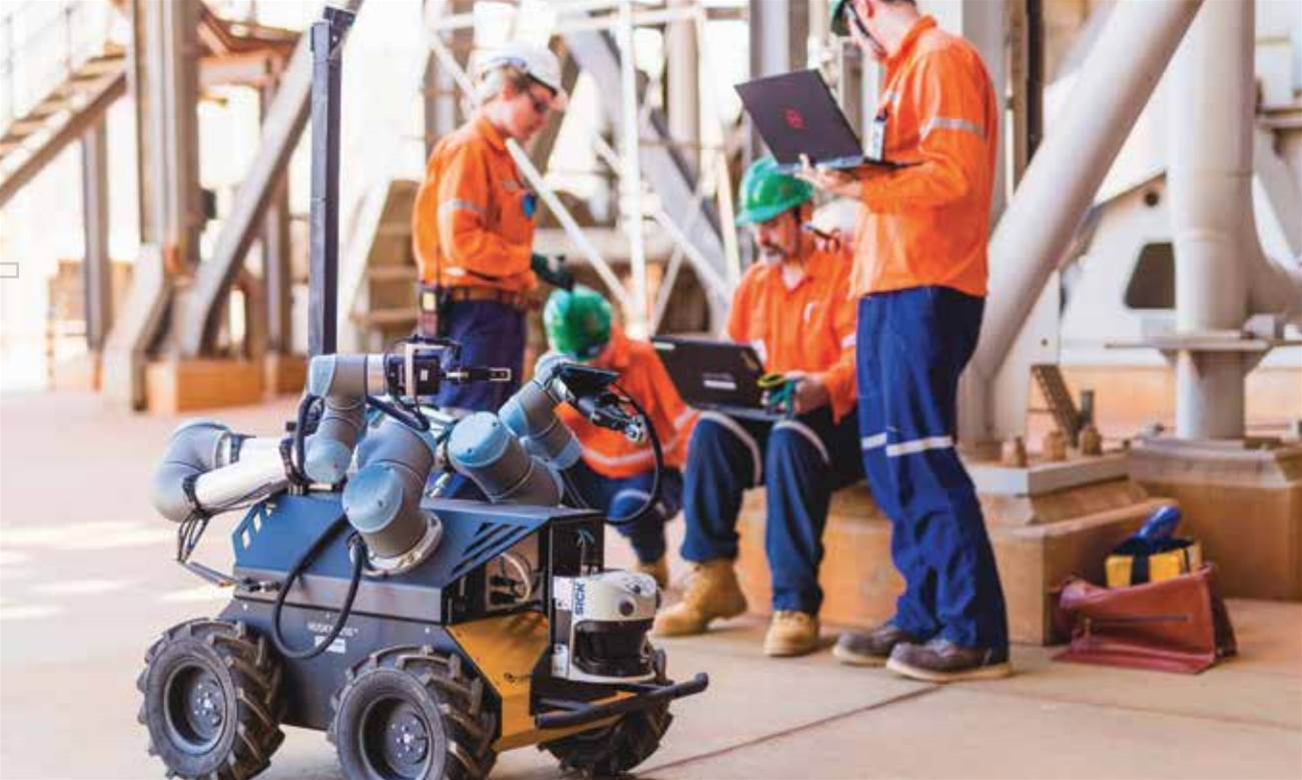 Woodside trials robotic inspectors for LNG plants