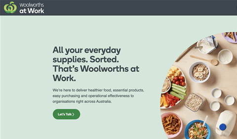 Woolworths quietly opens its B2B online shopping platform