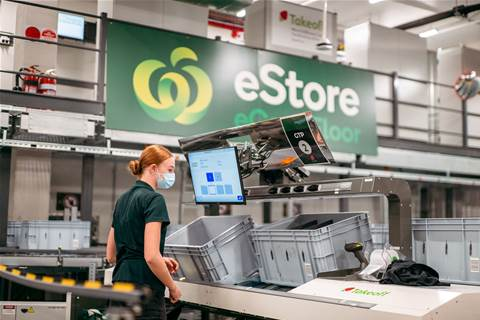 Woolworths opens first micro fulfilment centre in Queensland