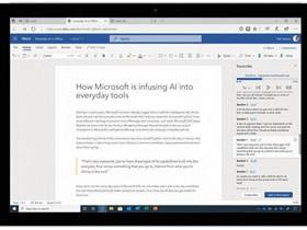 Microsoft Word will soon transcribe your audio recordings