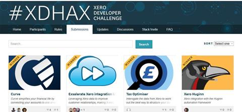 Xero sponsors app competition