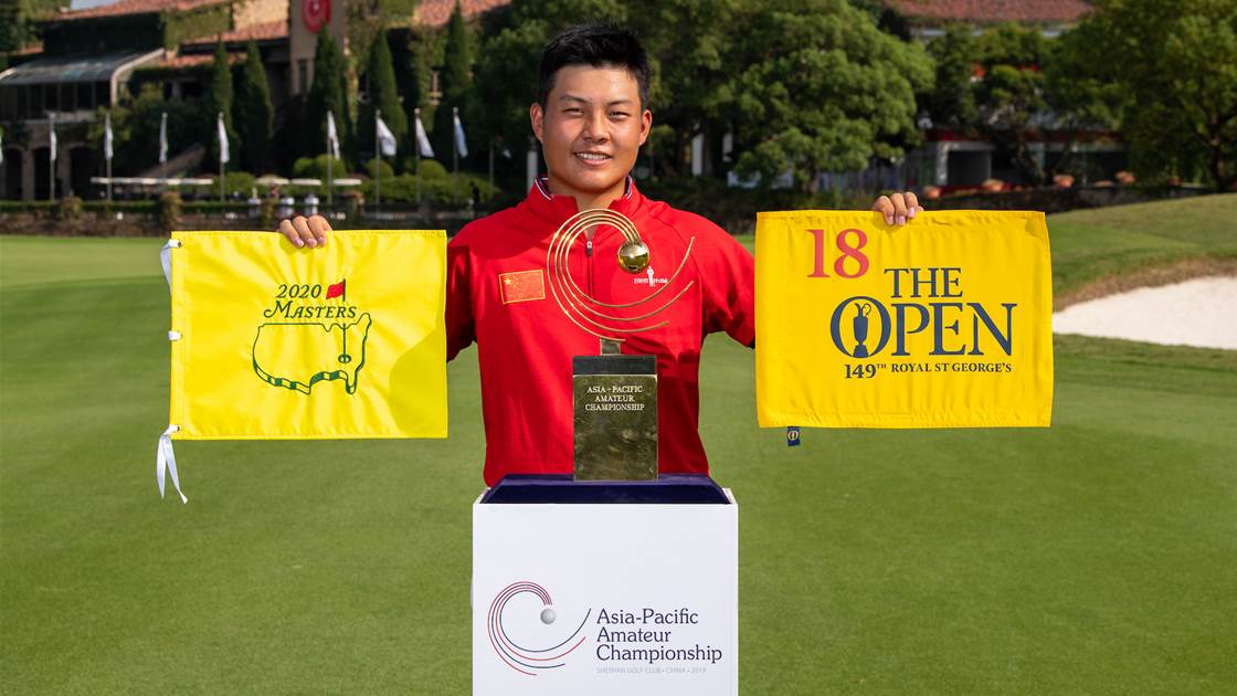 Defending champion and World No.1 set for Asia-Pacific Amateur Championship