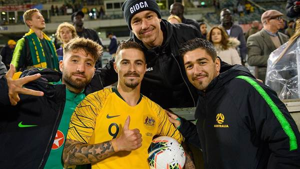 No promises for Socceroos hat-trick hero
