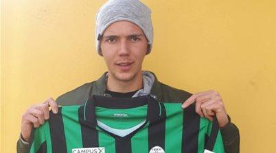 Serie A gazing: The Aussie striker on an Italian adventure