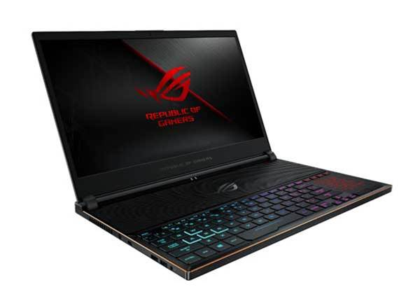 The Asus ROG Zephyrus S GX531 is a super skinny gaming laptop