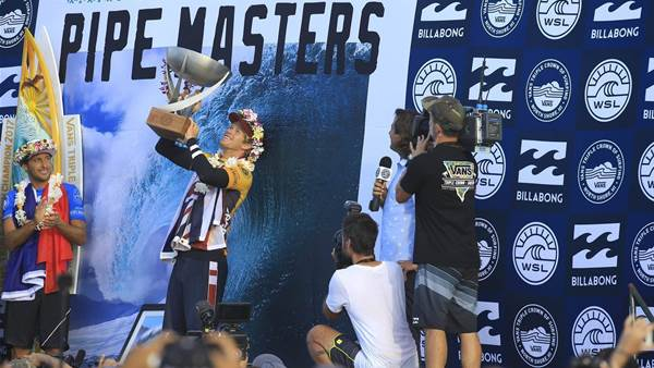 Bittersweet Glory For John John, The WSL King.