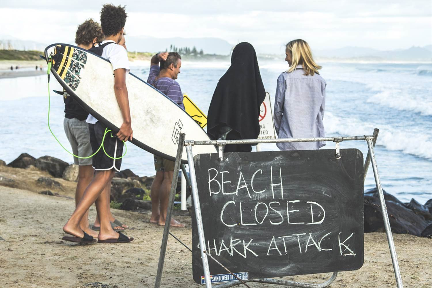 Shark Attack in Byron Bay