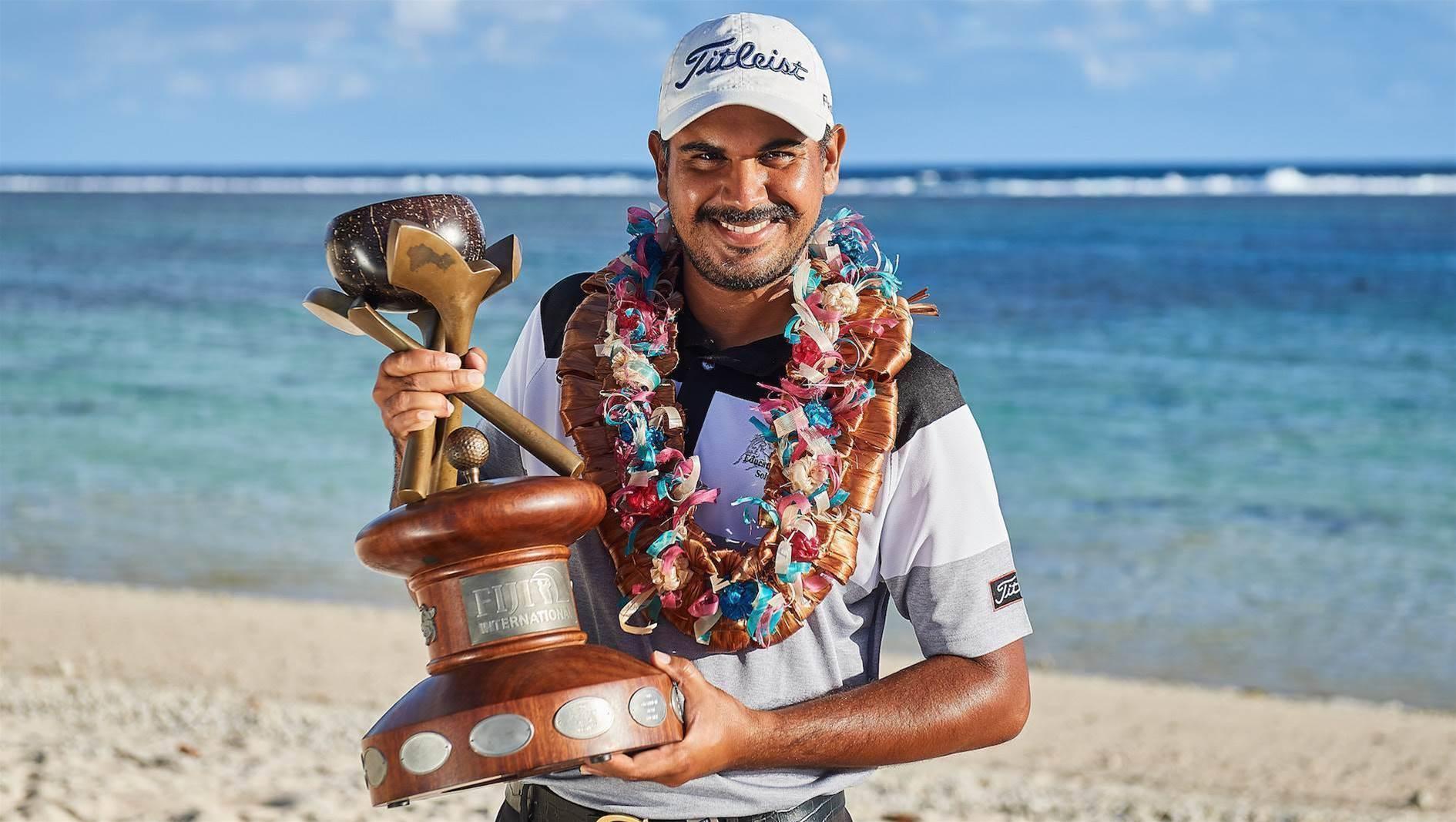 Gaganjeet Bhullar wins the 2018 Fiji International