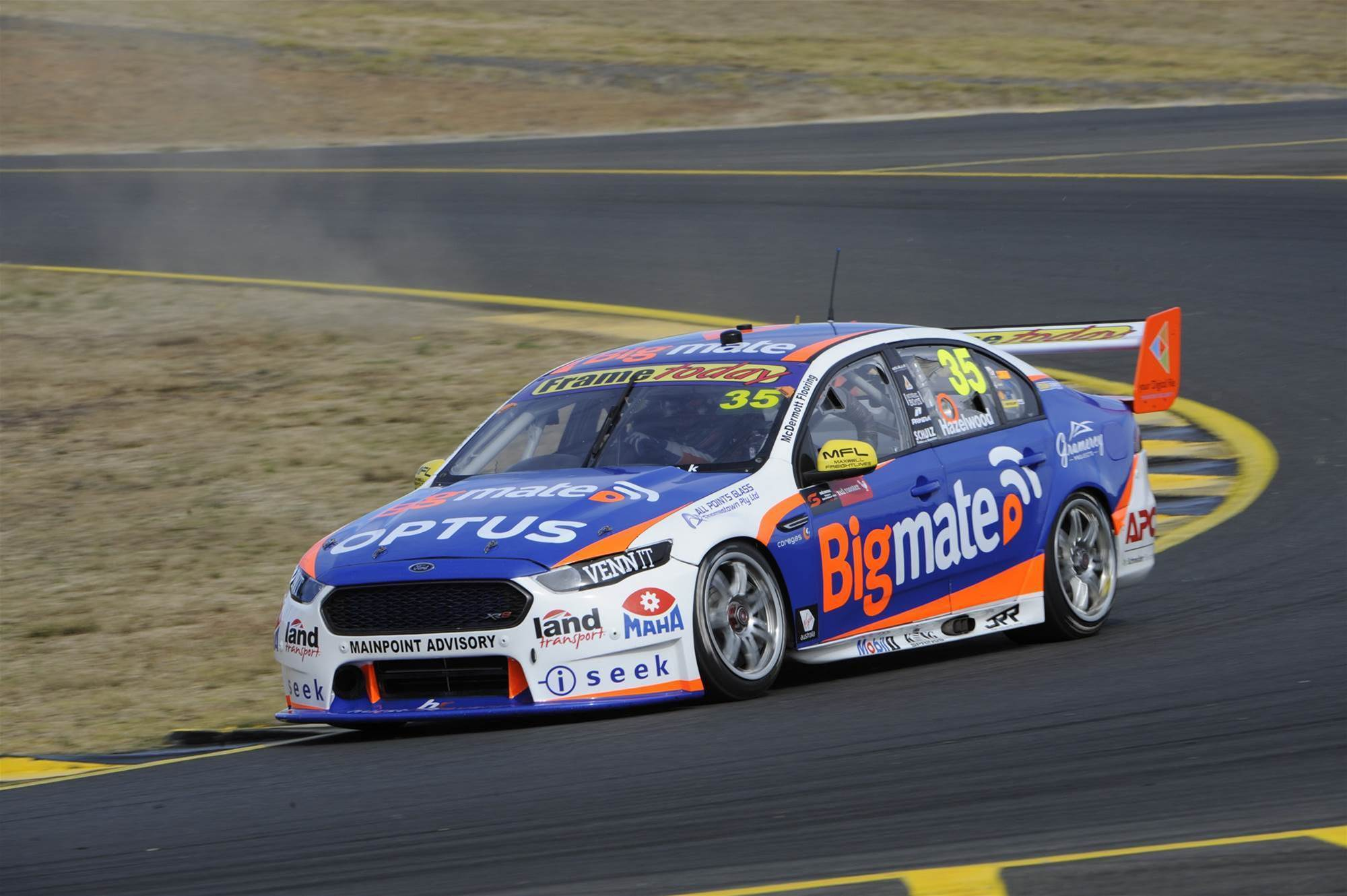 Ford Supercars rookie switches to Holden