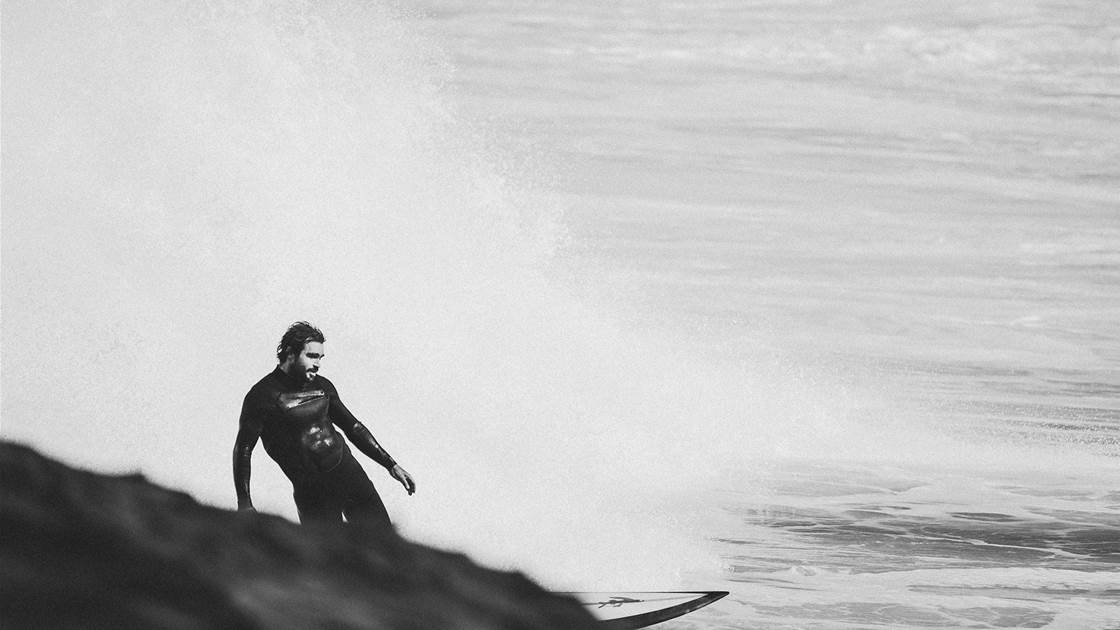 At home with desert drop-out, Heath Joske.