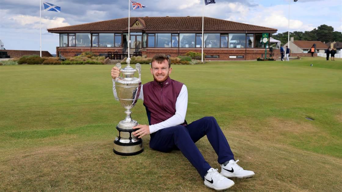 Shepherd completes astonishing comeback to win The Amateur