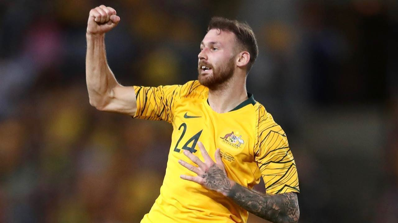 Boyle's brave heart beats for Socceroos