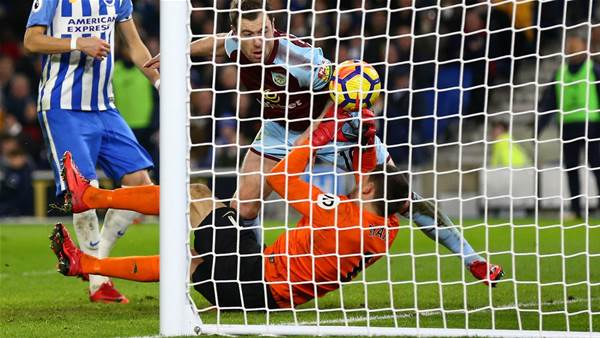 Mat Ryan stars in Burnley shutout