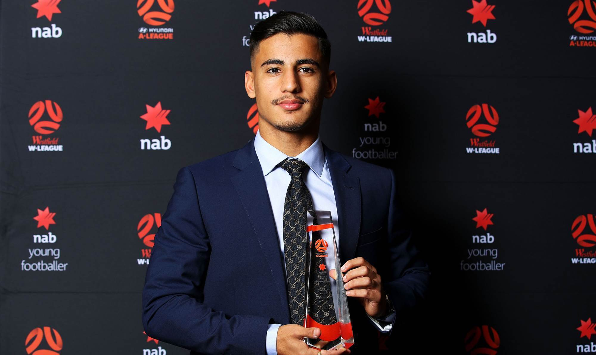 Arzani named top young footballer