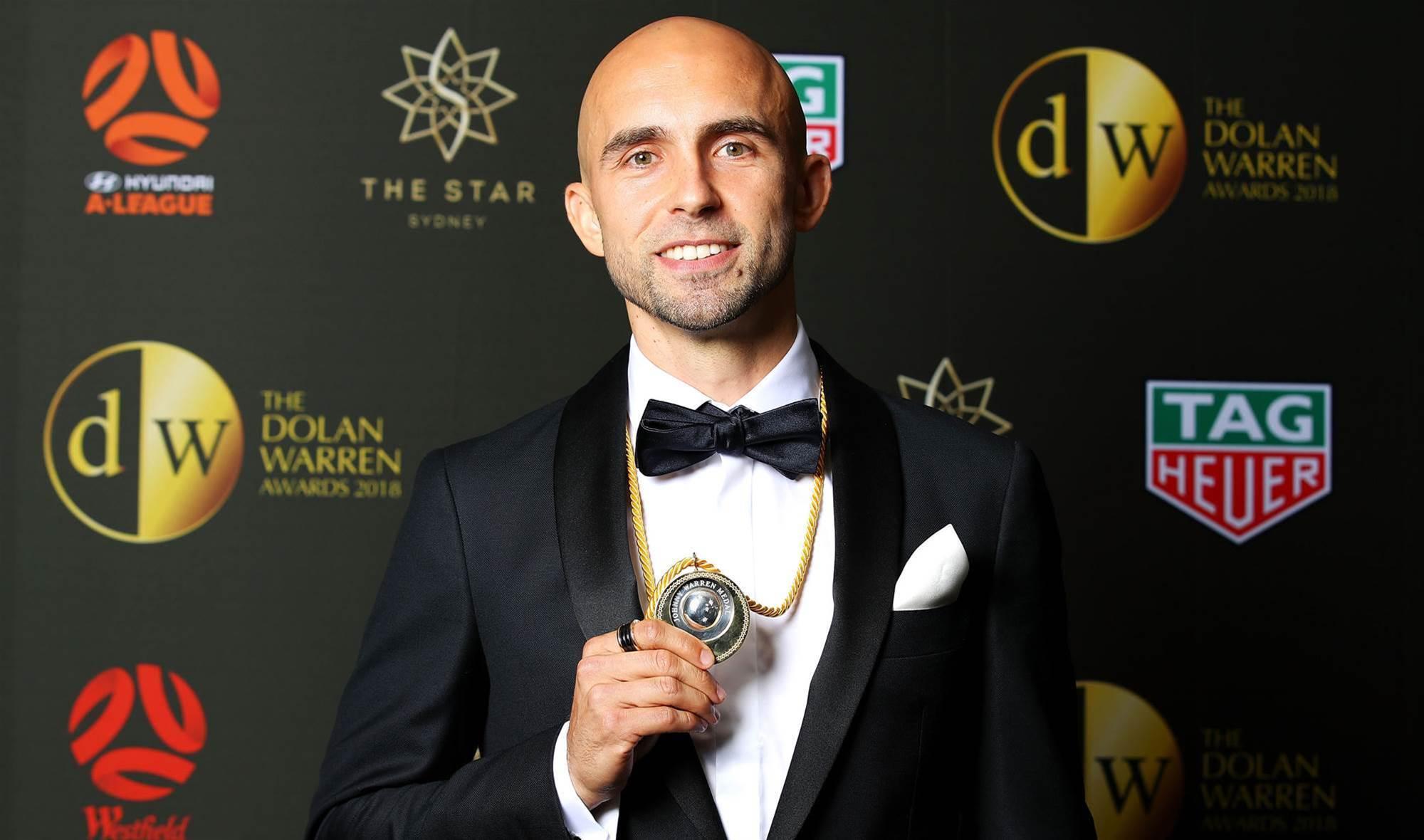 Sydney FC's Adrian Mierzejewski clinches Johnny Warren Medal