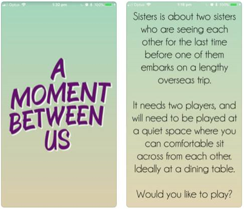 Review: A Moment Between Us