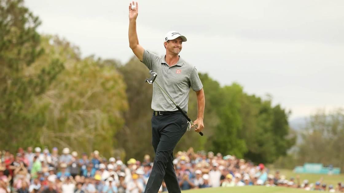 Scott breaks drought at the Australian PGA