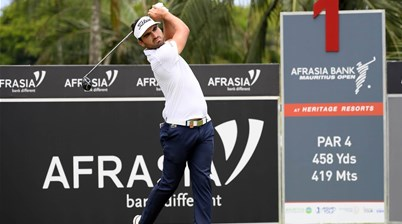 Three-way tie at the Afrasia Bank Mauritius Open