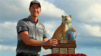 Stenson comes up clutch to win Tiger's event