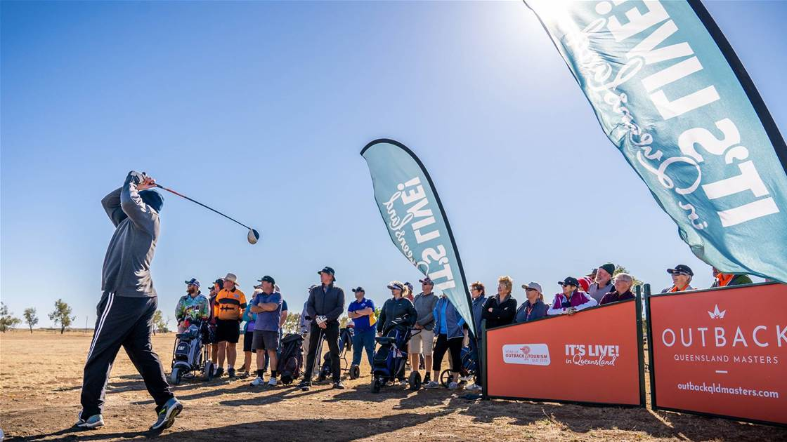 Outback Queensland Masters named Australia's best new event