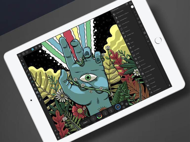 Drop everything and download: Affinity Designer for iPad
