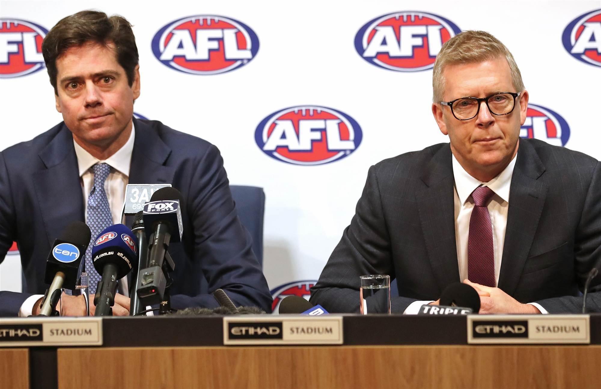 AFL make huge changes to MRP