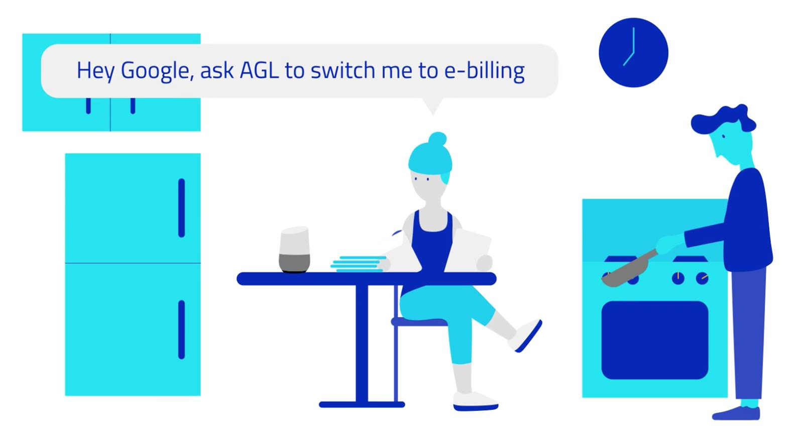 AGL allows bill management via Google Home