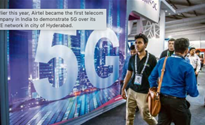 Airtel and Tata to pilot 'Made in India' 5G in January 2022