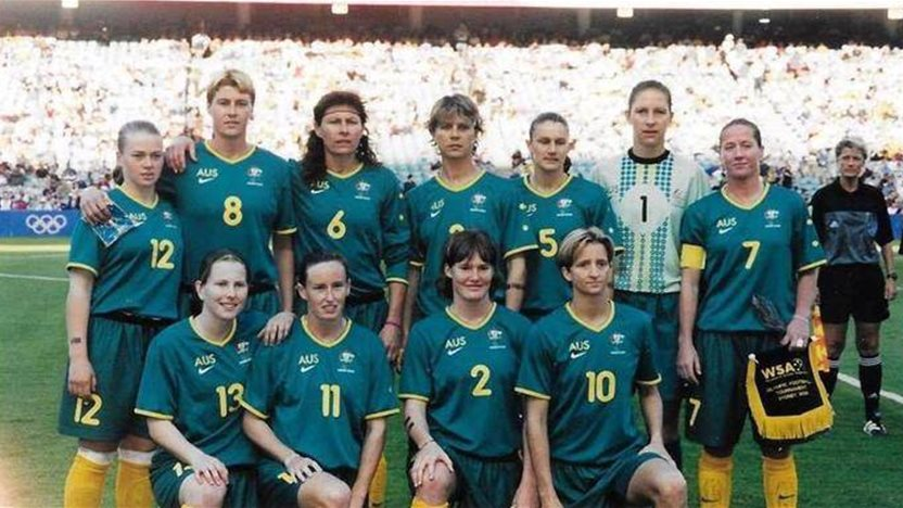 30,000 packed fans: First Matildas Olympian remembers 'changing point' 20 years ago