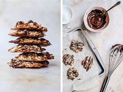 almond cluster cookies