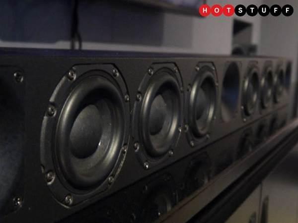 Sennheiser's first soundbar packs in a mere 13 speakers