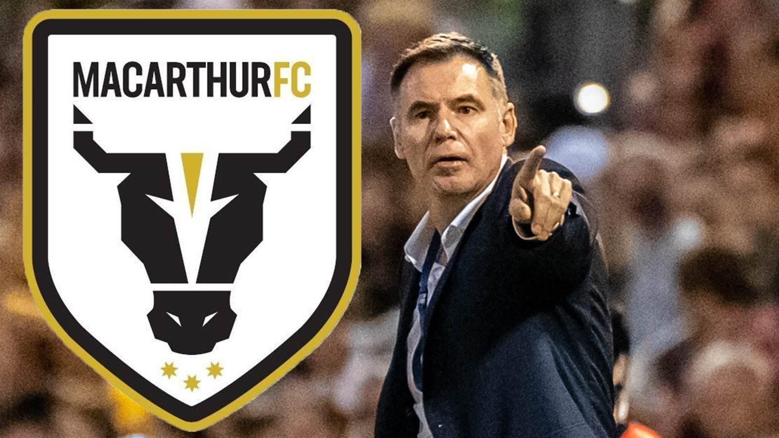 No Bull - Ante is Macarthur's new boss