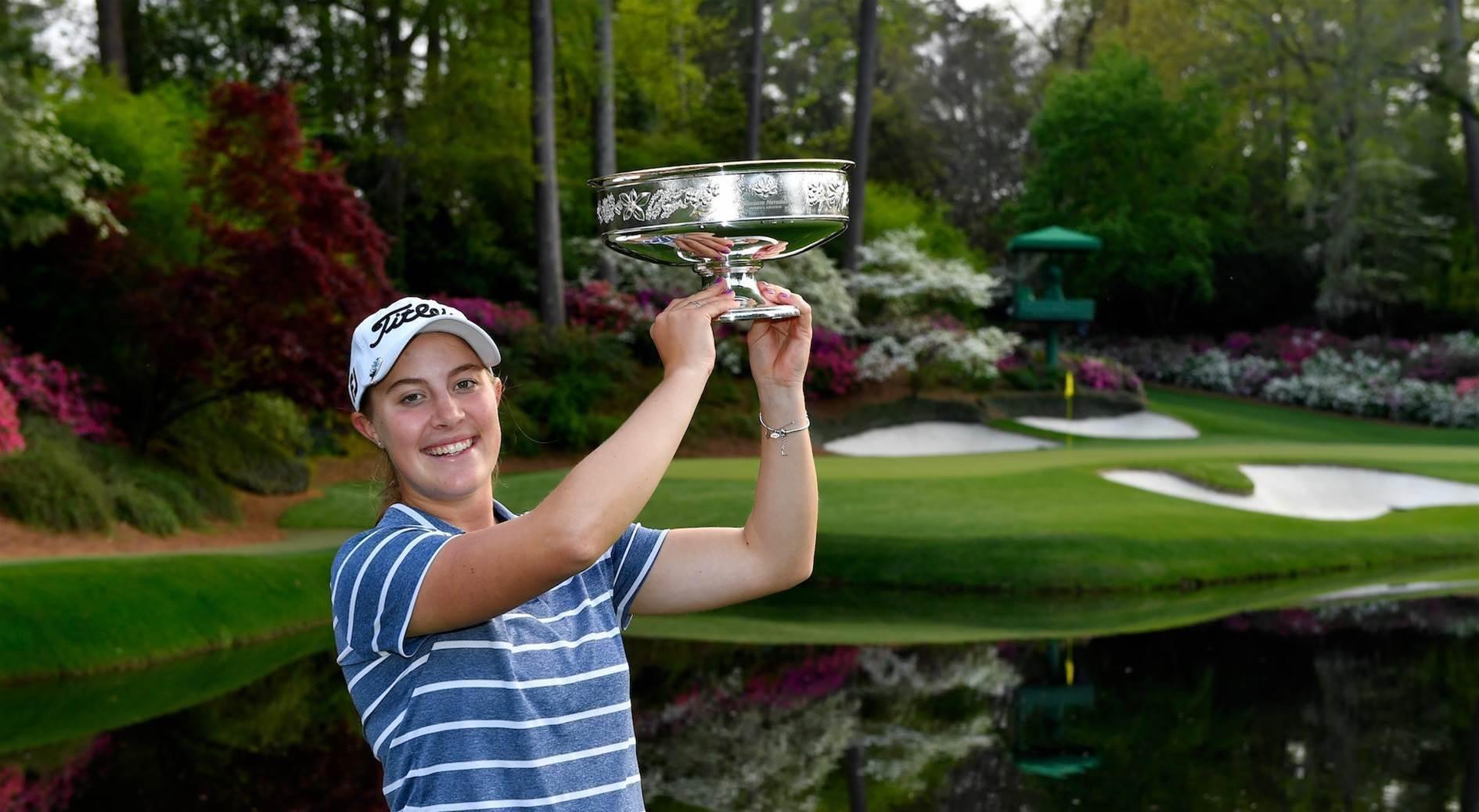 World No.1 wins inaugural Augusta National Women's Amateur