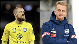 Cap him! Big Blue keepers vie for Roo debut
