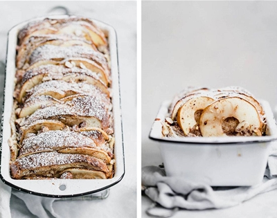 apple and cinnamon baked french toast