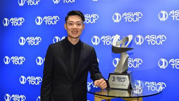 Asian Tour stars celebrated at awards gala