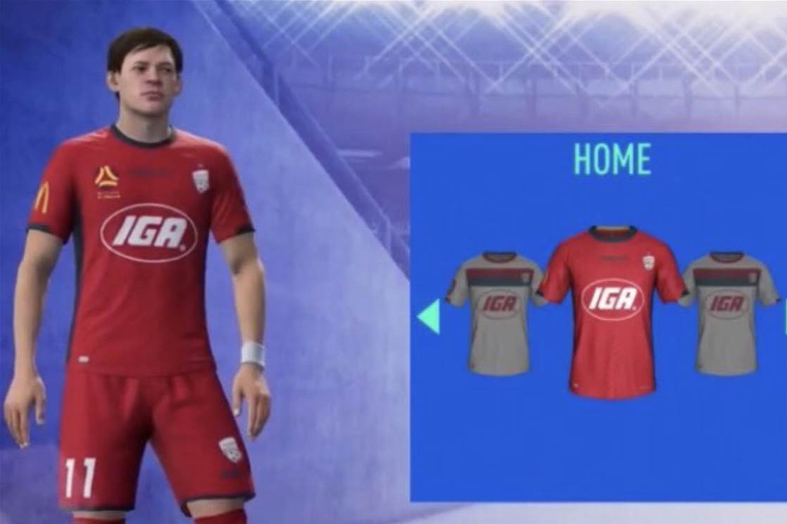 Did FIFA just leak Adelaide's new kit?
