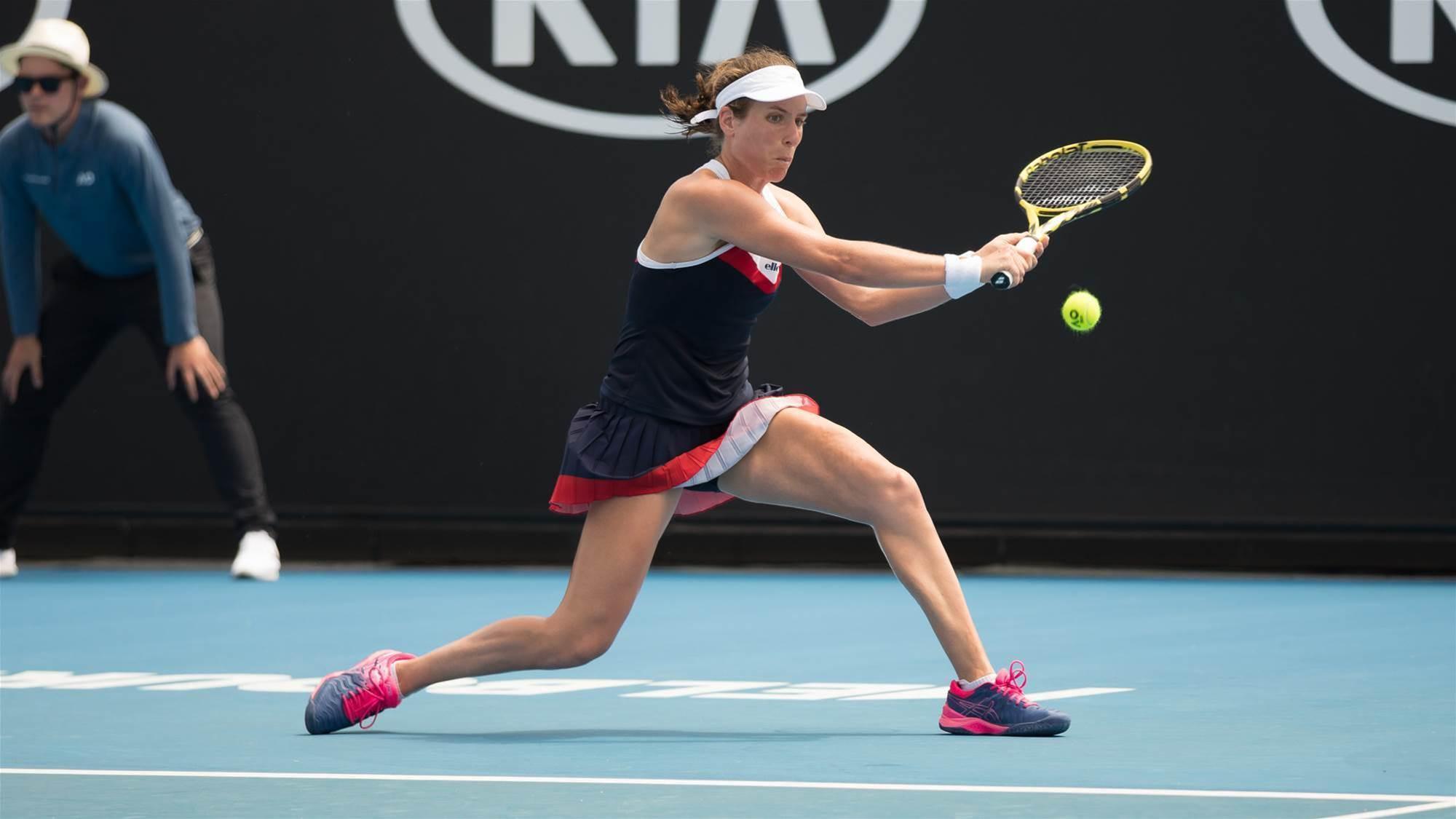 Tennis stars injury pain from Australian Open