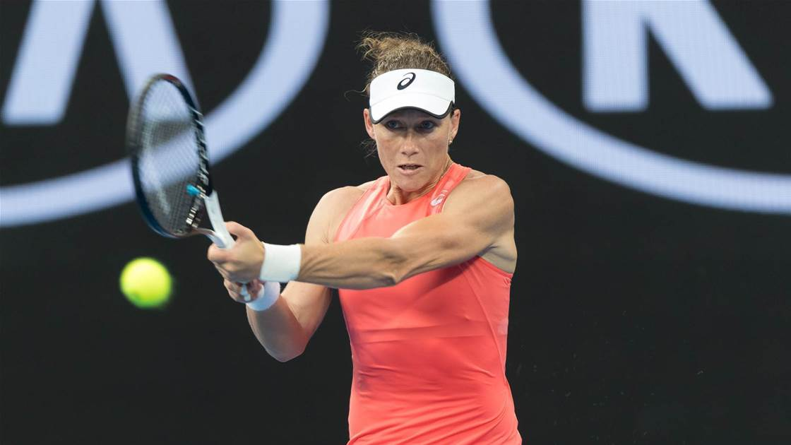 Stosur feeling good ahead of Fed Cup
