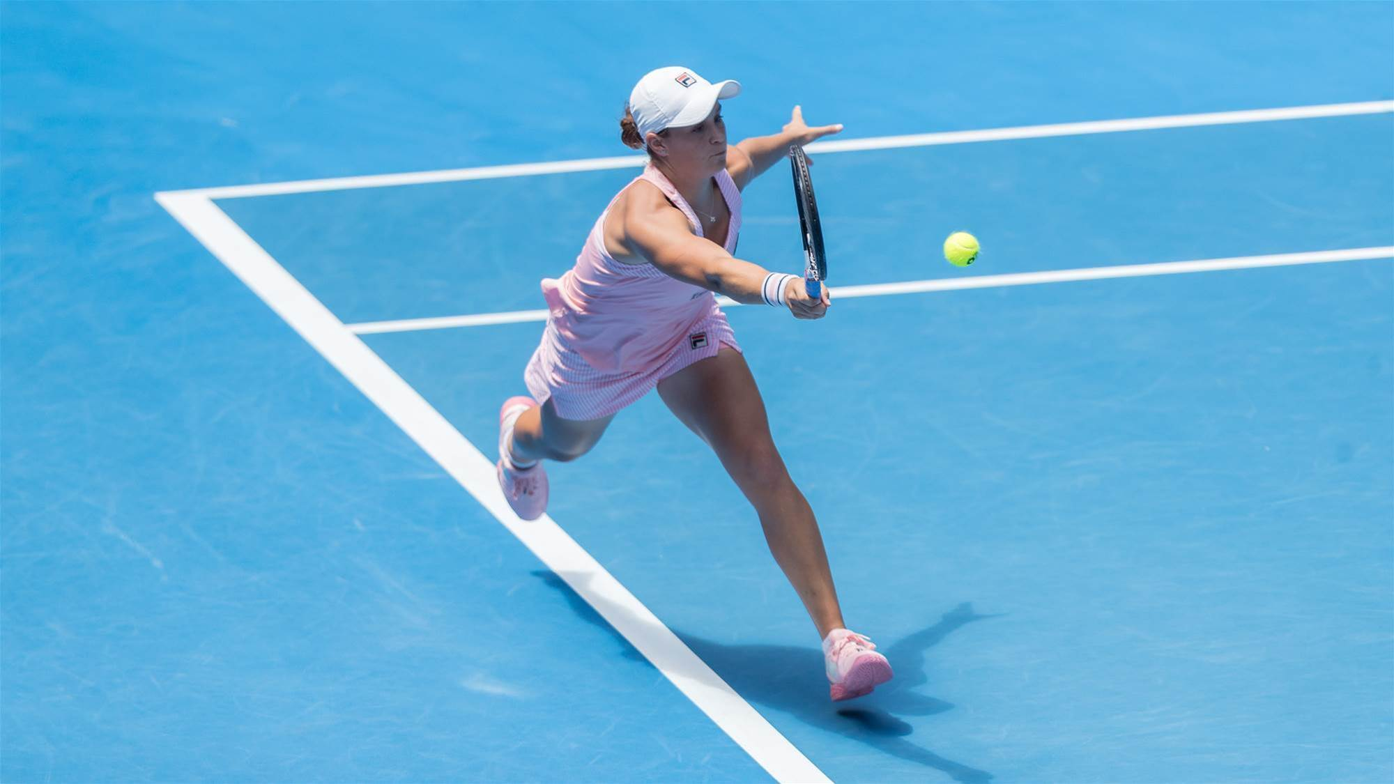 Quarter-finals drought broken by Barty