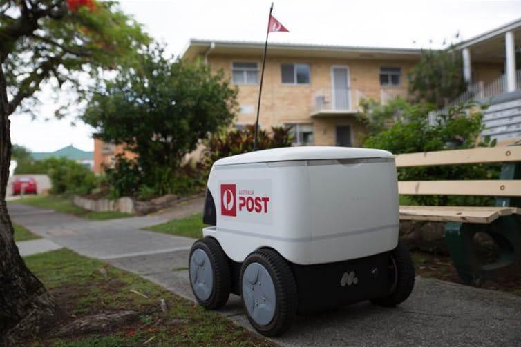 Could robots help Amazon beat AusPost's slow delivery problem?