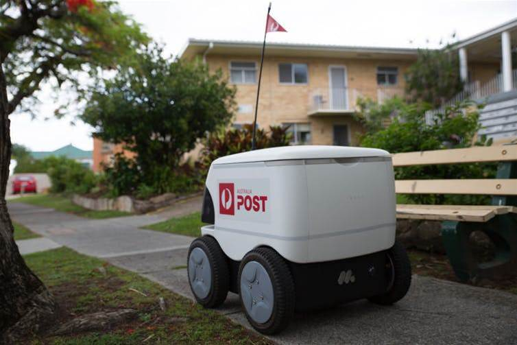 Could robots help Amazon beat AusPost's slow delivery problem?