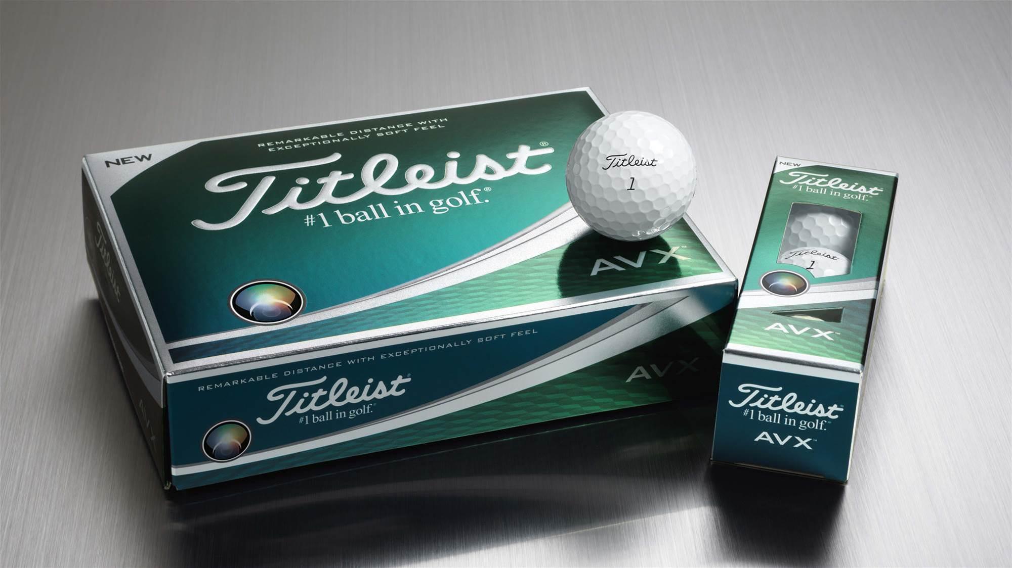 Titleist's all-new AVX balls headed to Australia