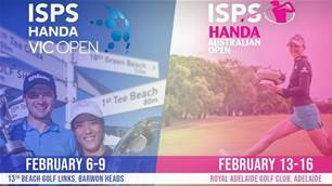 Dates confirmed for Vic and Women's Opens