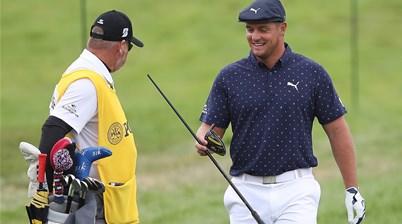 DeChambeau snaps driver at US PGA